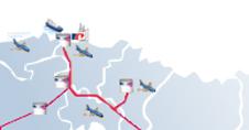 Storage terminal map