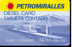 Diesel Card Tarjeta Contado