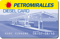 Diesel Card Crèdit