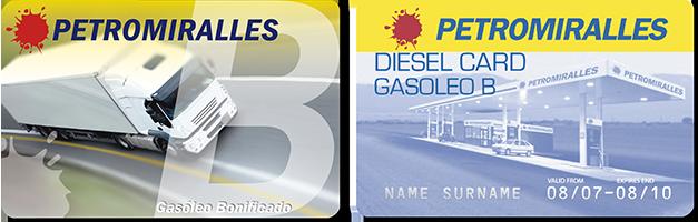 Diesel Card Gazole B